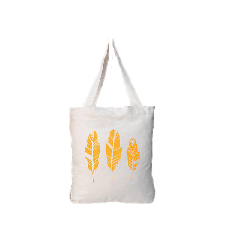 Wholesale cotton fabric new reusable 100 cotton tote natural handled organic cotton bag