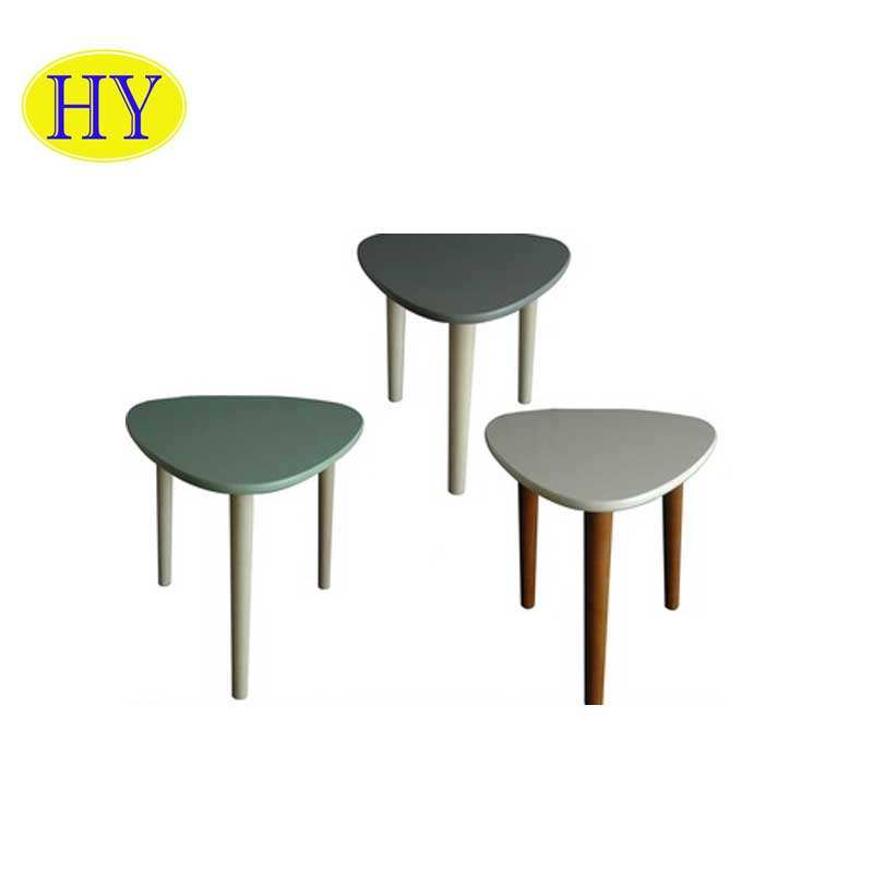 Wholesale cheap price high quality durable wood coffee table K/D