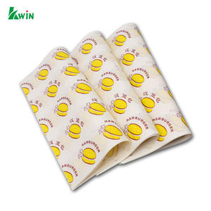 Factory Direct Selling Waterproof Custom Printed Food Containers Wrapping Paper