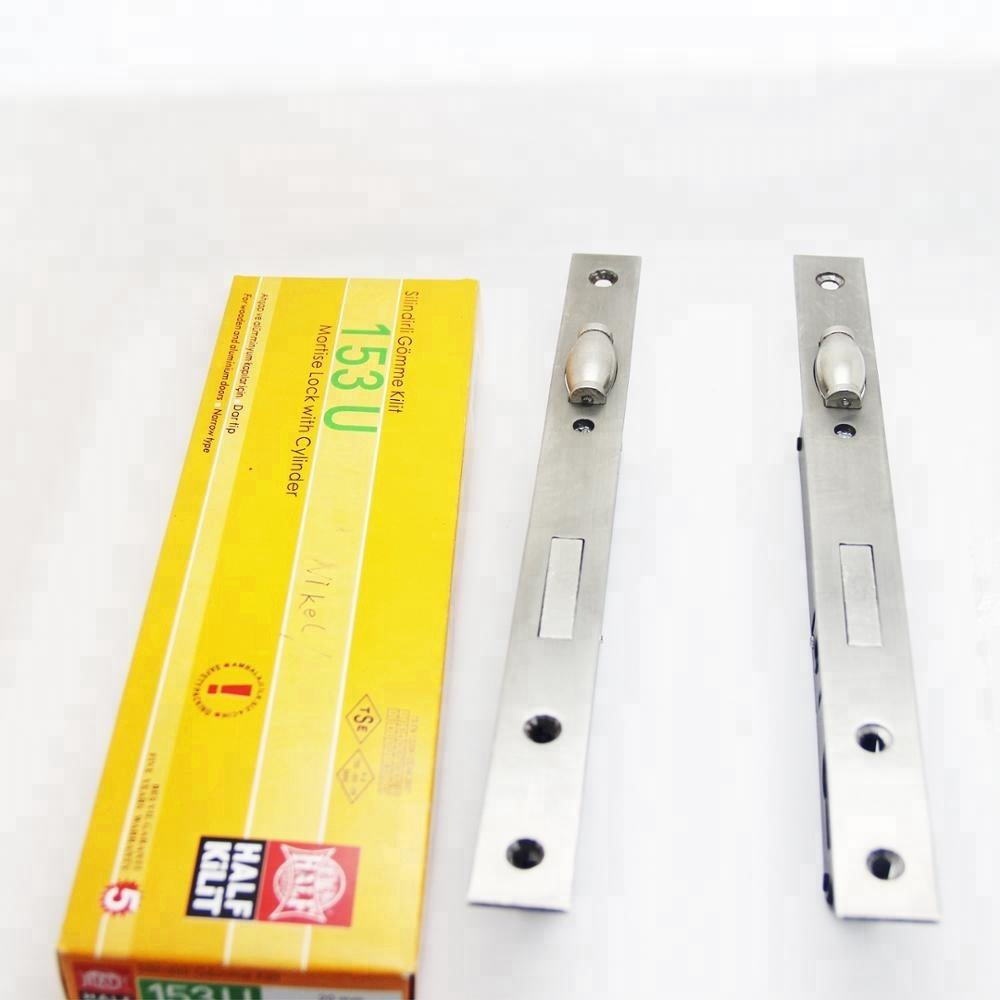 Mortise aluminum lock 153U