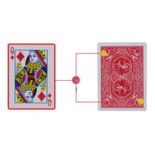 New Secret Marked Poker Cards See Through Playing Cards Magic Toys Simple but Unexpected Magic Tricks