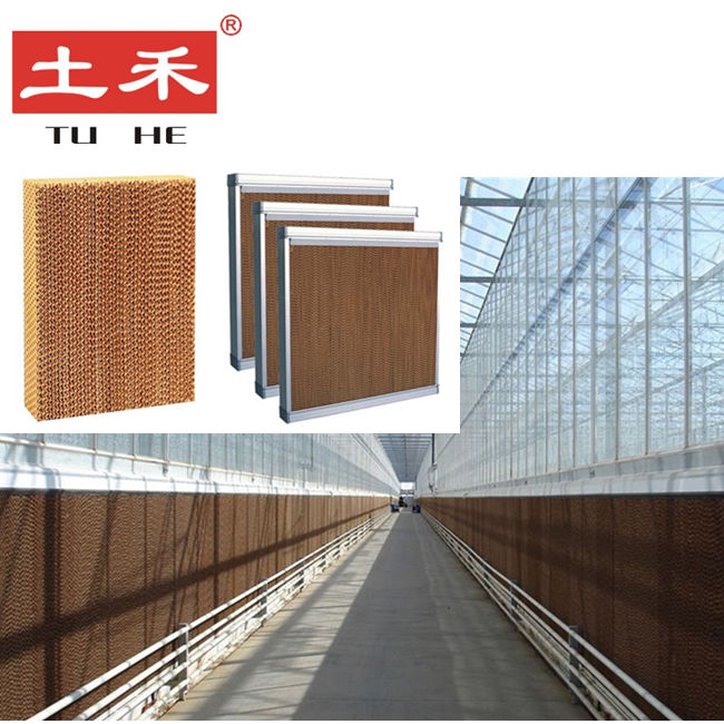 Poultry farm husbandry equipment evaporative cooling pad system