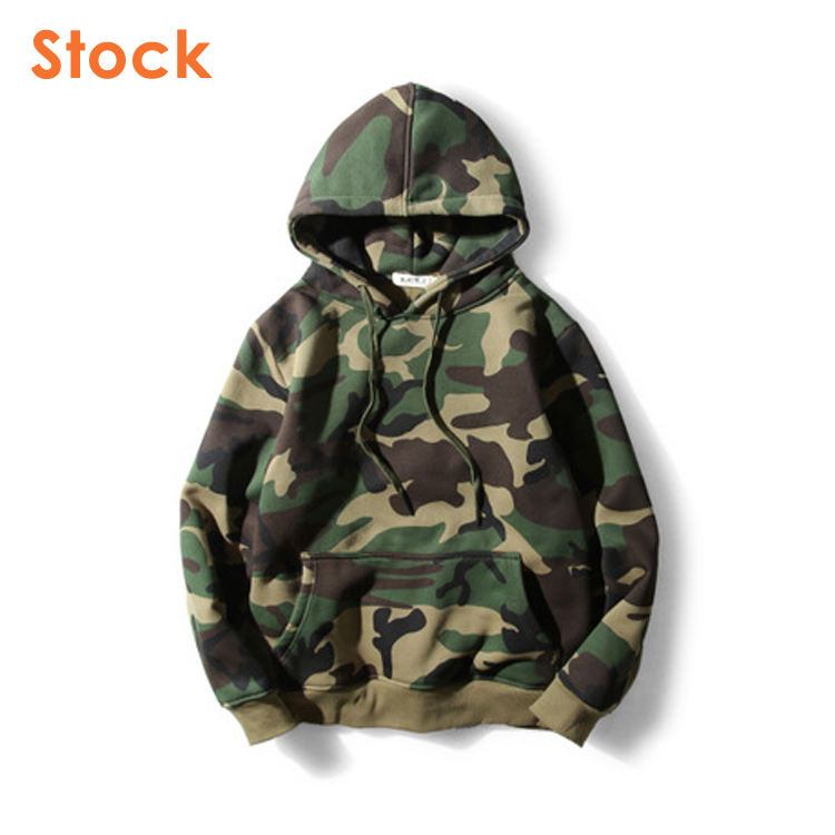 Hot Sale High Quality Men Camouflage Hoodie