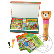 Wholesale Hot Selling Growing Up Children Audio Books Educational Children's Talking Pen for Kids Learning English