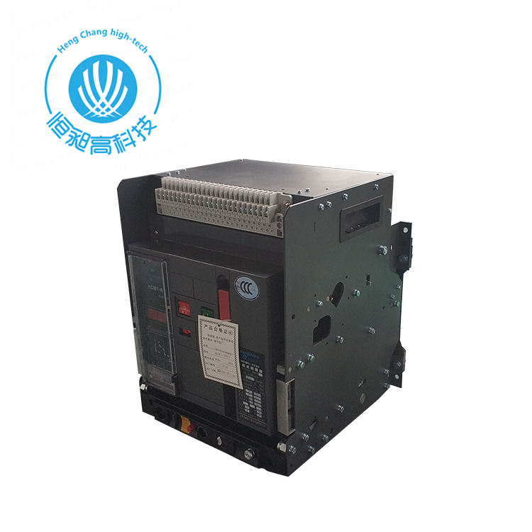 acb 4000 a 4p 3p 2000a fitted- intelligent type universal circuit breaker