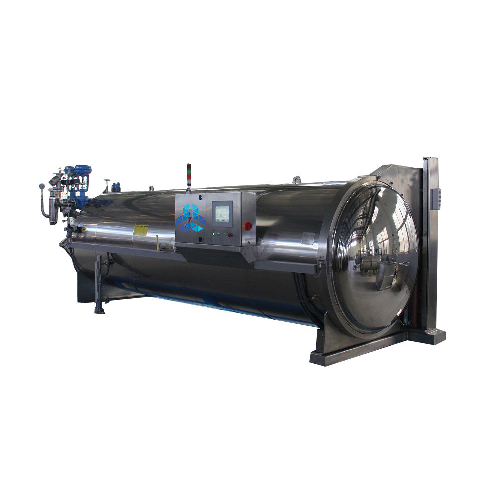 food processing steam retort autoclave machine for quinoa seed/rice