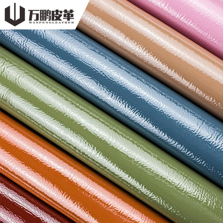 Wholesale Eco-Friendly Fashion 100% Pu Synthetic Leather For Shoes Handbags Sofa Chair