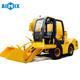 1m3 self loading mobile concrete mixer truck