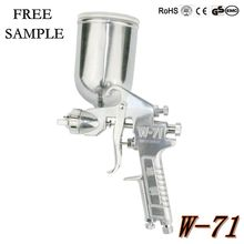 W71 gravity 130cc 1.0mm cheap handy coating line painting spray gun paint