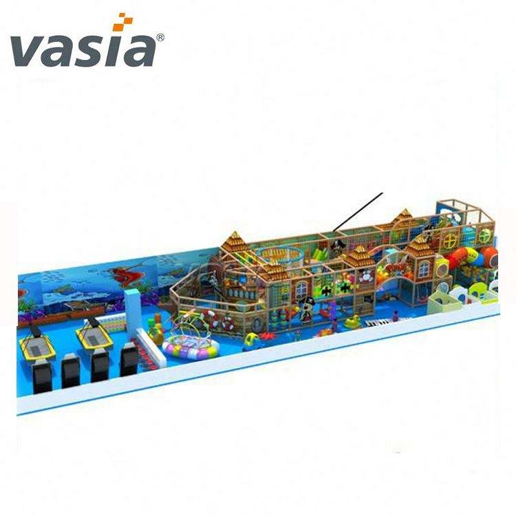 Installation provided kids sea world indoor playground and theme park on sale