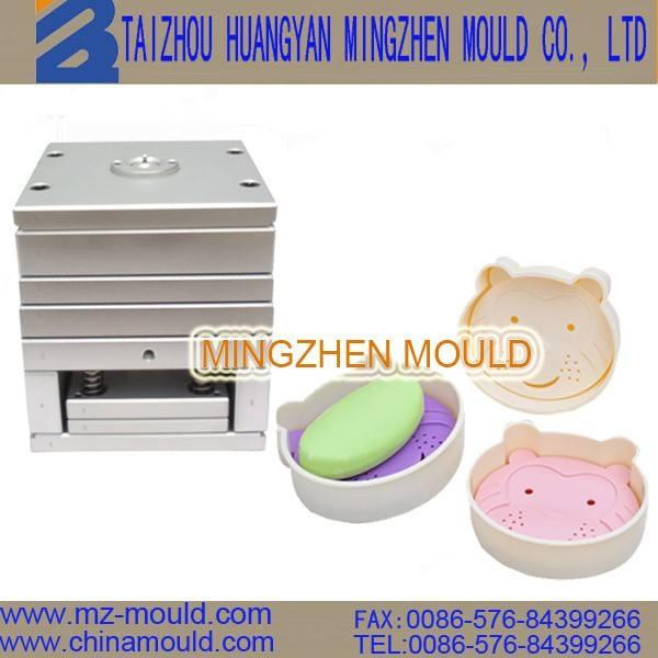 De china huangyan de plástico de los productos básicos caja de jabón del molde fabricante