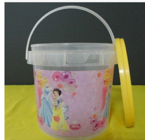 Cheap Wholesale Food grade AAAA grade small popcorn pail 2L plastic bucket
