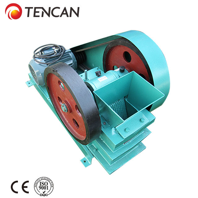 small lab jaw crusher for hard and brittle materials
