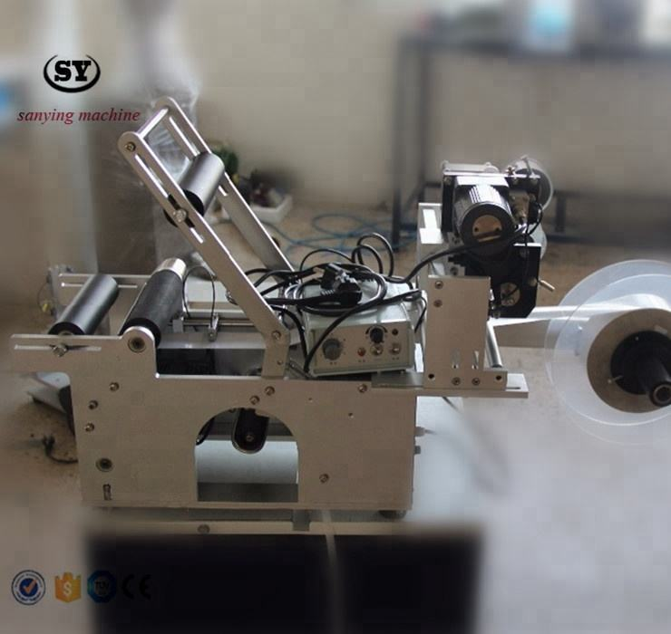 LT-50D Semi-automatic Labeling Machine for Round Bottles