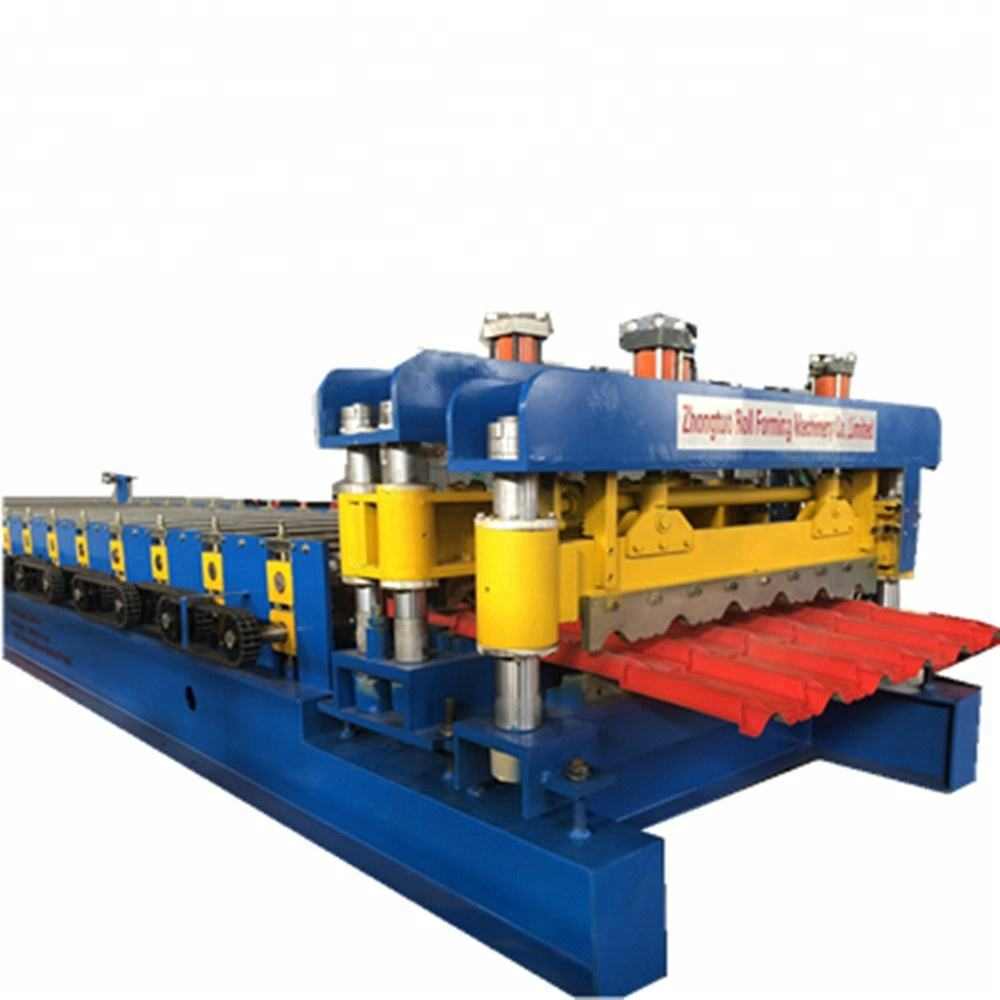 glazed tile roll forming metal roofing tiles making machine for building material machinery