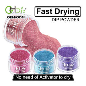 Pink Color 어필하는 큐빅 못 Fast Drying Dip 분말 와 붙 system