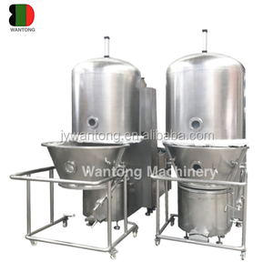 Glatt food powder Fluid Fluidized Vertical Bed Dryer machine Pharmaceutical price for foodstuff, chemical, pharmacy industry