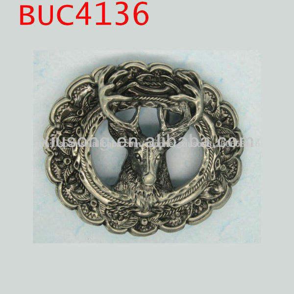 occidental buc4136 ciervos <span class=keywords><strong>buck</strong></span> al aire libre regalo hombre la caza de la hebilla del cinturón