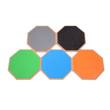 Colorful Logo Custom 12 Inch Rubber Practice Dumb Drum Pad