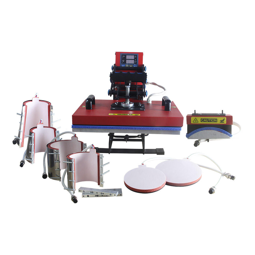 8 in 1Multi functional Heat Press machine