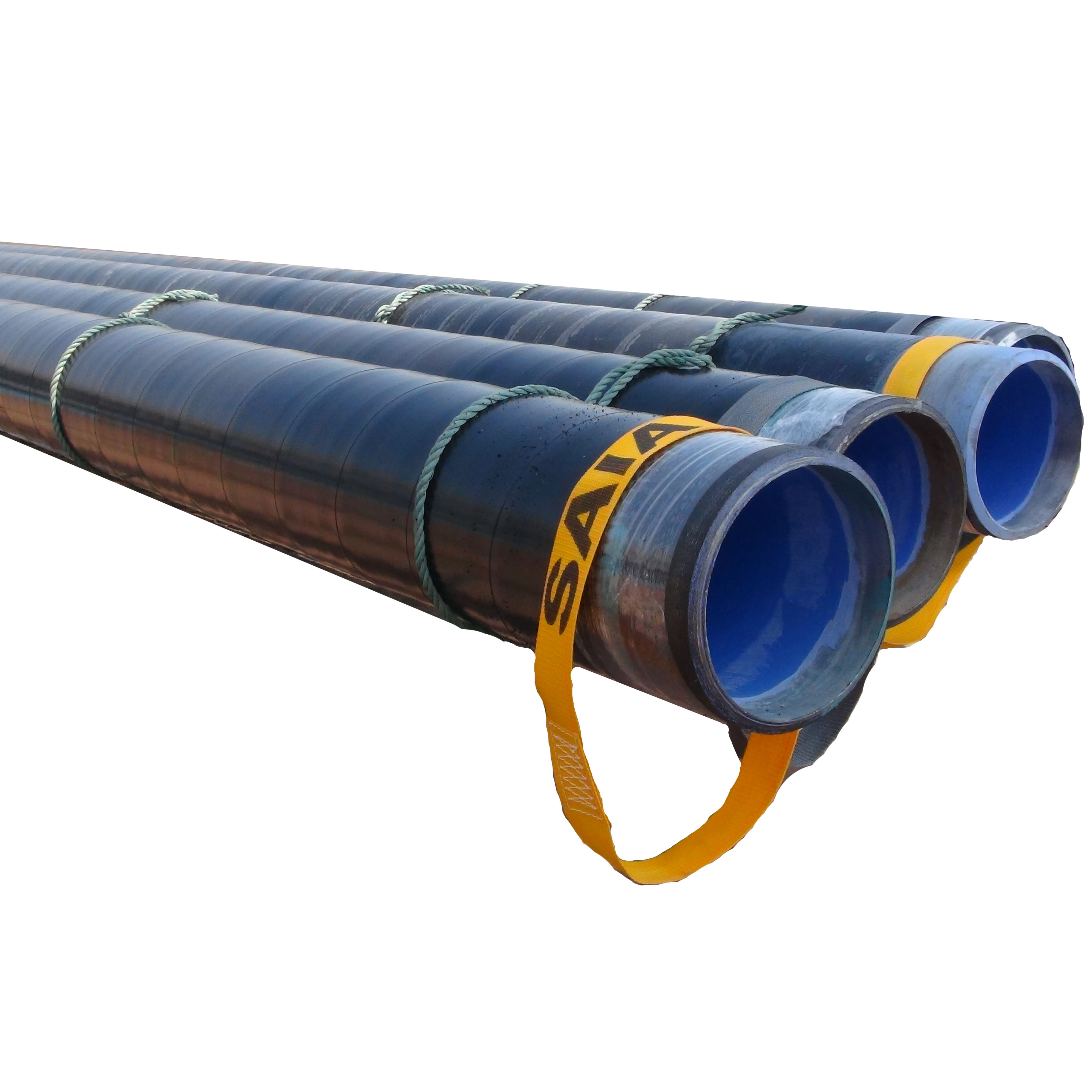 API 5L Gr.B,X42,X46,X52,X56,X60,X65,X70 PSL1 Carbon Seamless 3PE/3LPE/FBE/Epoxy Coated Steel Pipe