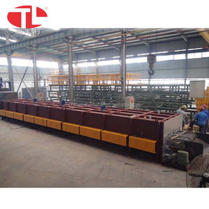 Continuous Quenching and tempering furnace with oil washing and cleaning