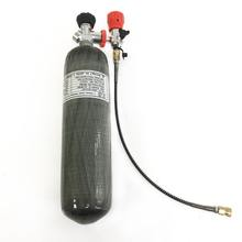 2020  diving new 3L CE gas cylinder 300bar 4500psi HPA pressure tank for pcp airgun