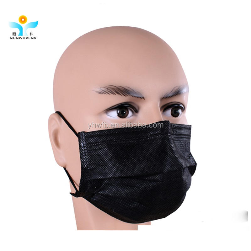 Disposable medical 3ply ear loop face mask white list