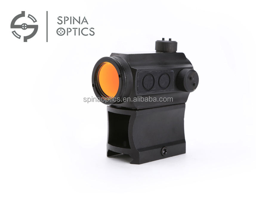 SPINA OPTICS Hoge Mount 1X24 Militaire AP Micro T-1 Stijl Gun Sight Red Dot Scope voor Rifle Karabijnen Handgun