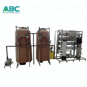 4000L/H así agua alcalina desalinización filtro plantas Código hs para las aduanas