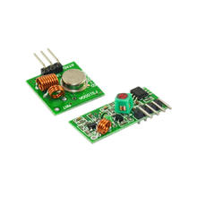433Mhz Wireless RF Transmitter and Receiver module Kit for DIY Electronics