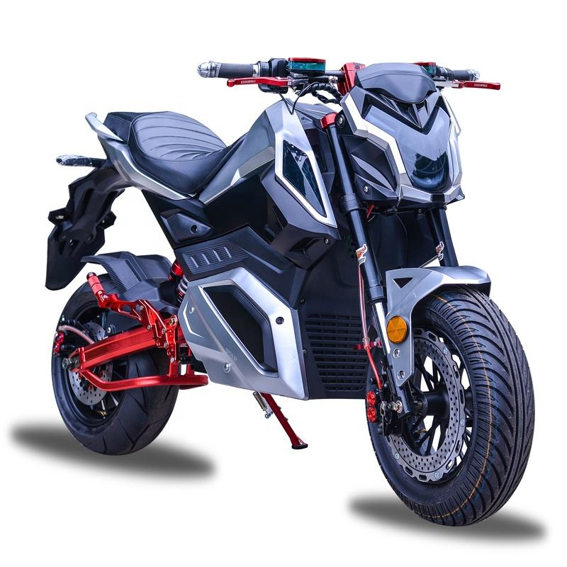 72V2000W Racing adult high speed electric motorcycle with cheap price for sale