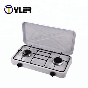 China manual ignition type iron gas cooktop stove
