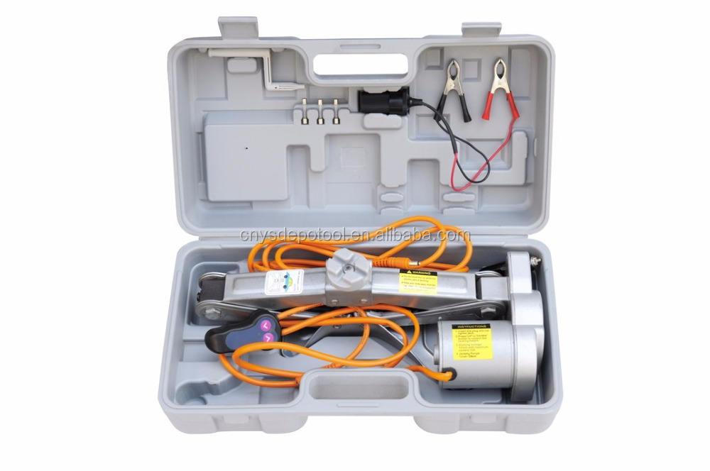 دليل عالمي المحمولة التلقائي للنفخ الكهربائية سيارة جاك الهيدروليكية