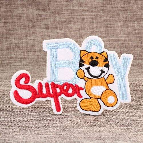Packaging Customization Eco Sew On Applique Cute Cartoon Animal Labels Felt Embroidery Patches For Kids And Baby