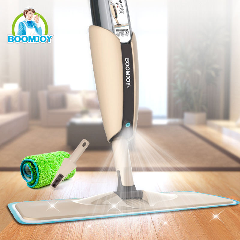 360 DEGREE SWIVEL CNY PROMOTION SINGLE HAND OPERATION STICKY MICROFIBER CLOTH SPRAY MOP FLOOR MOP CLEANING MOP