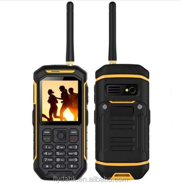 X6 rugged di alto livello cellulare walkie talkie impermeabile gsm cellulare.