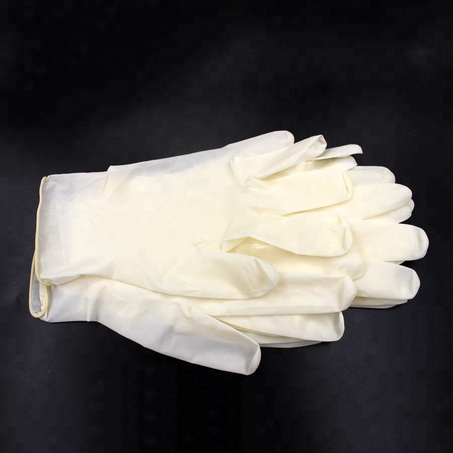 Disposable Surgical Powder/Powder free Latex Examination Gloves