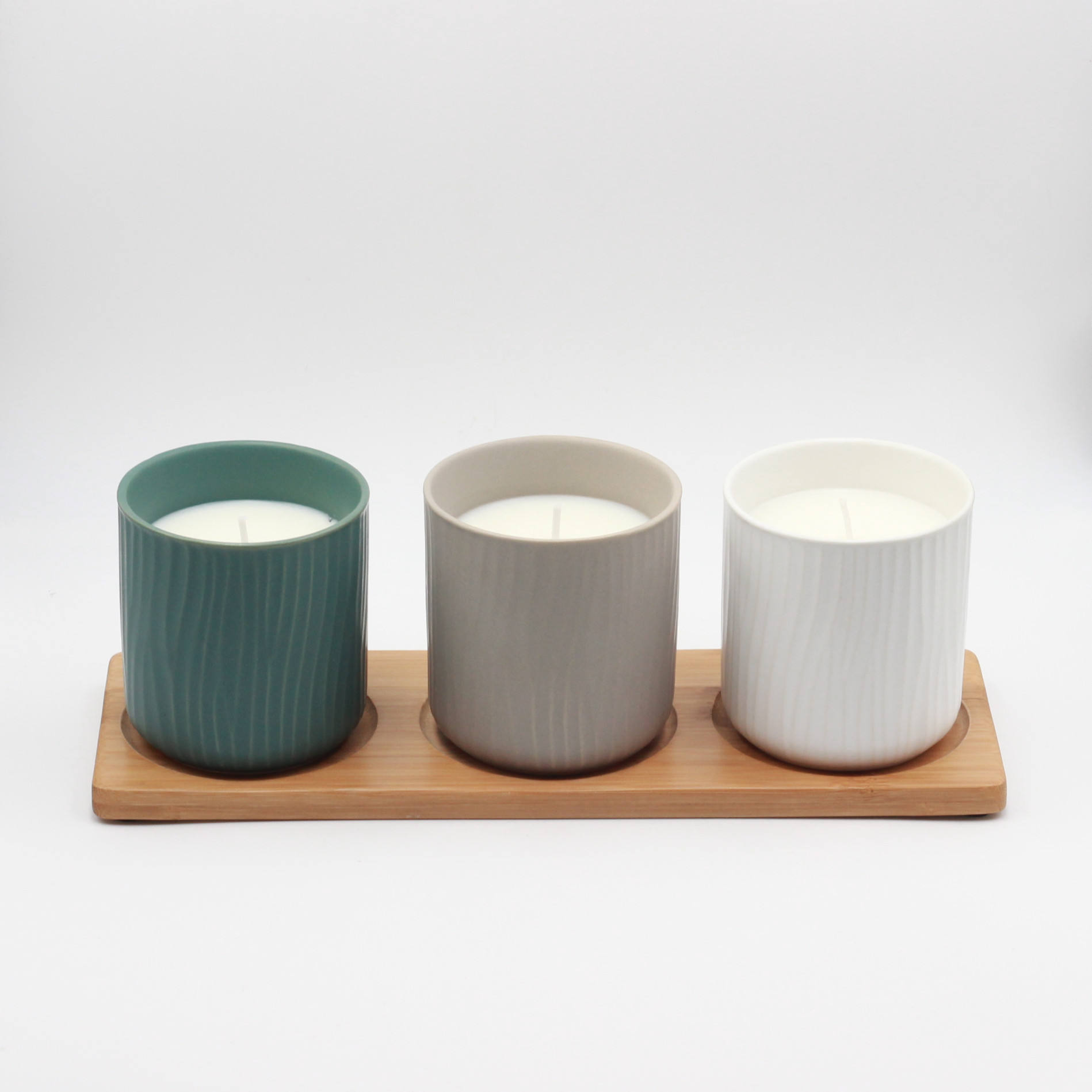 6 oz luxury Ceramic 컵 candles in sets