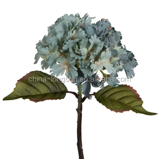 LSD-1612042390 GNW decorative stocking artificial hydrangea flowers as wedding decoration flower for weddings
