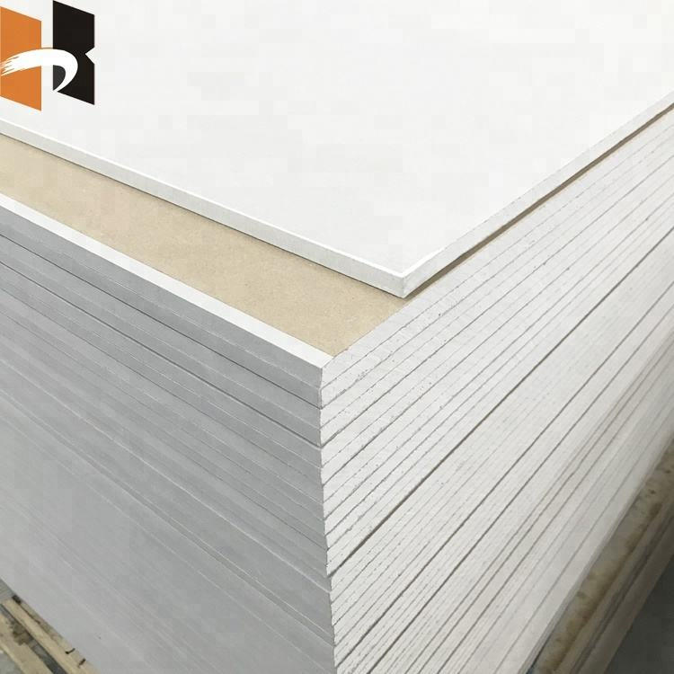 12mm plaster board dry wall gypsum board for celling and construction