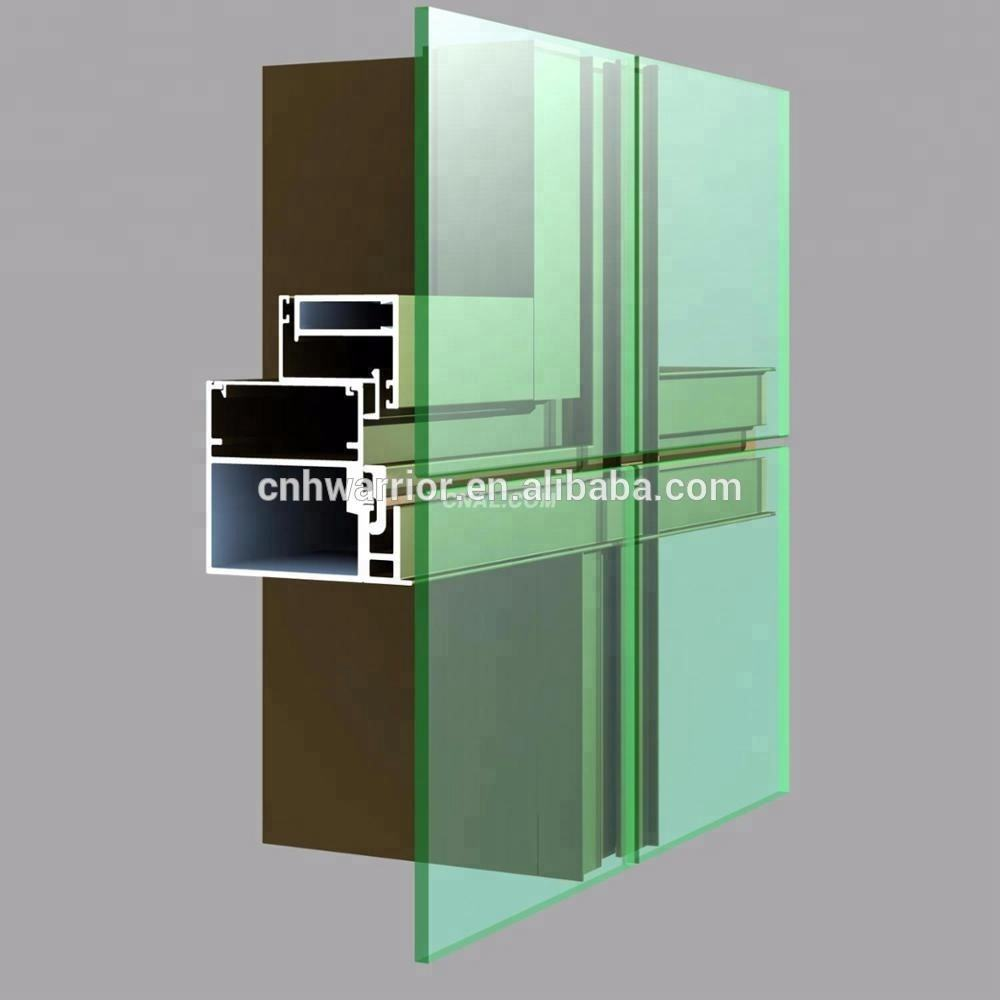 1 Year Warranty [ Wall Panels Panel ] Aluminum Frame Inner Partition Exterior Curtain Wall Panels Decorative Aluminum Sandwich Panel For Warehouse And Factory