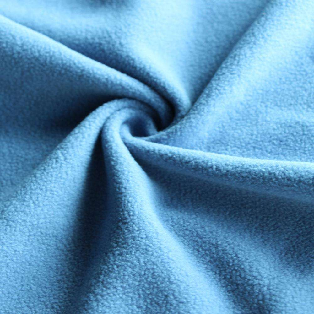 china supplier polyester sherpa lining fleece fabric low price apparel fabric