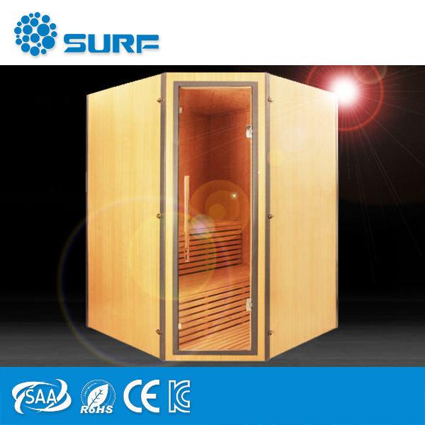 Barato productos innovadores de cedro rojo perder peso Sauna de ozono