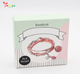 Hot sale DIY craft kits DIY pink beads bracelet set for girls gift