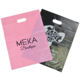custom personalized plastic shopping bags with your own logo die cut handle for gifts