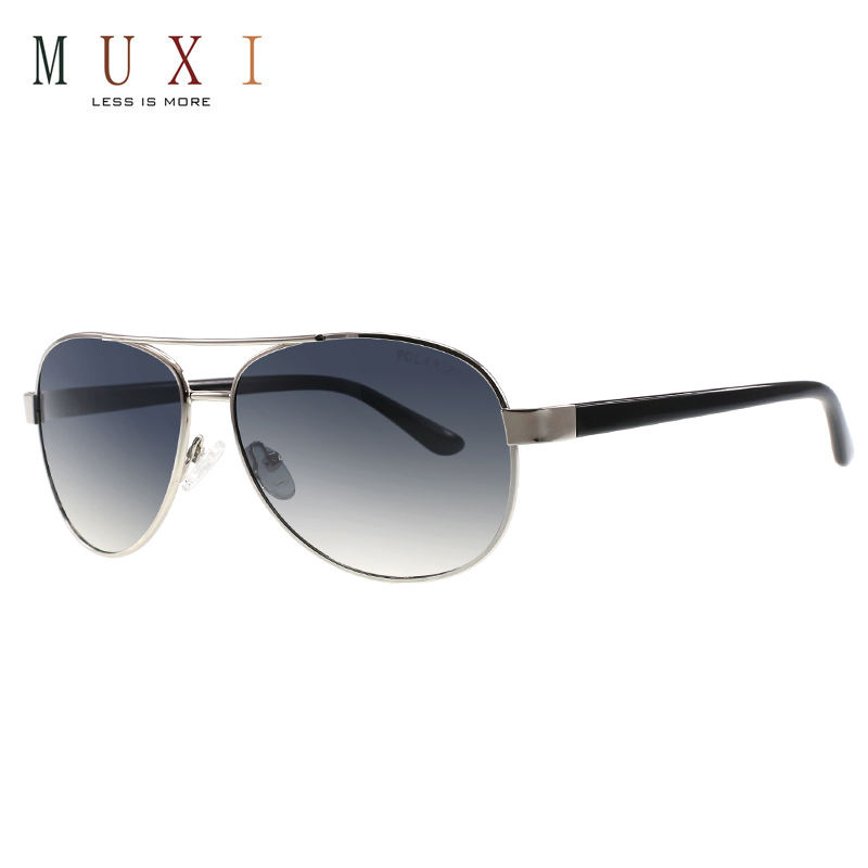 3 colors available uv400 polarized eyeglass, double bridge unisex outdoor driving quality metal sunglasses