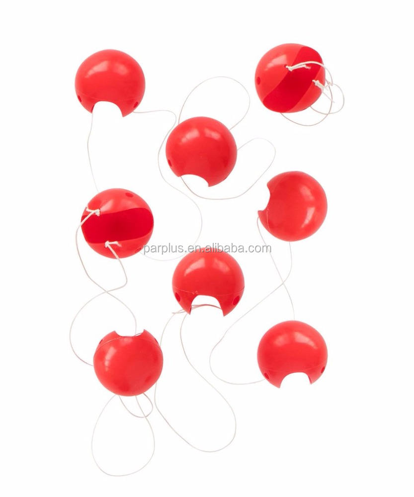 <span class=keywords><strong>Rouge</strong></span> <span class=keywords><strong>Nez</strong></span> De Clown En Mousse Éponge <span class=keywords><strong>Nez</strong></span> de Clown en plastique