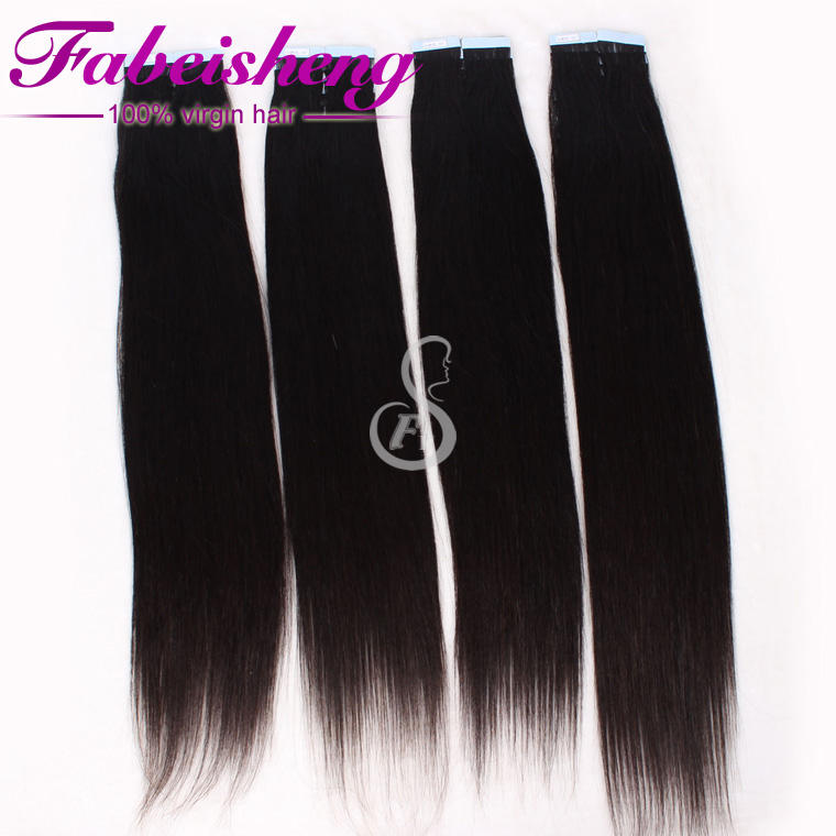 wholesale machine tape hair extension form indian hair tape