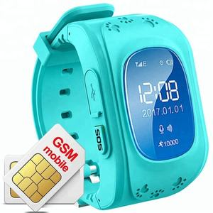 2018 Android IOS Bluetooth Anti Lost SOS Kids Tracker Children's Smartwatch Q50 Q60 Q100 Q90 GPS Smart Watch Phone